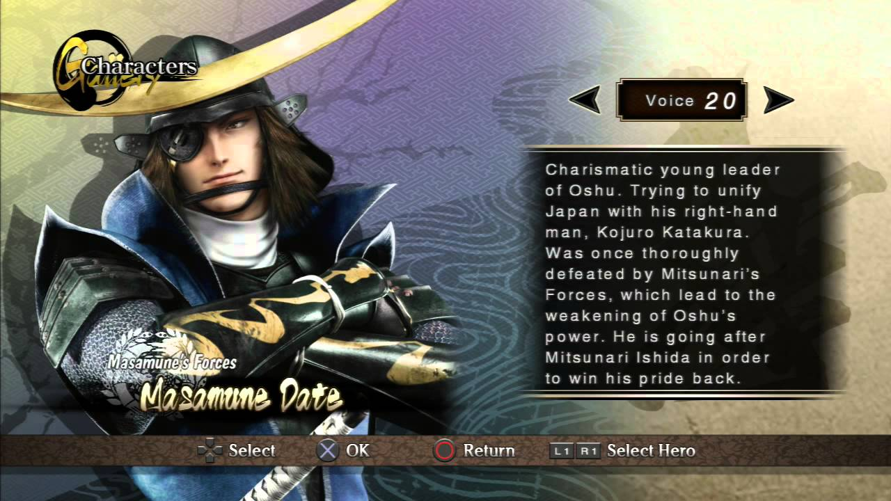 Sengoku Basara Samurai Heroes PS3 Iso