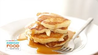 Apple-buttermilk Pancakes - Everyday Food With Sarah Carey