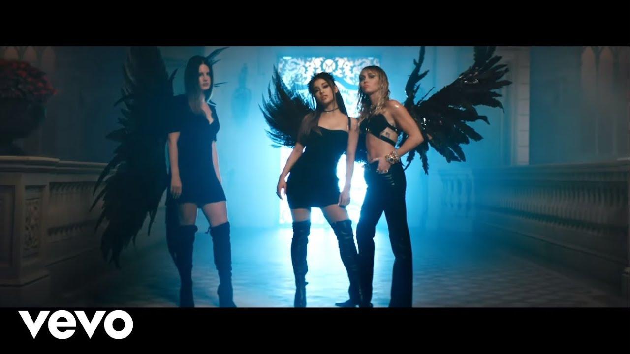 Don't Call Me Angel Lyrics - Ariana Grande, Miley Cyrus ft Lana Del Rey