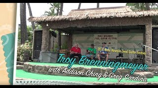 Download Maui Steel Guitar Festival - Troy Brenningmeyer, Bobby Ingano, Greg Sardinha, and Addison Ching MP3 song and Music Video