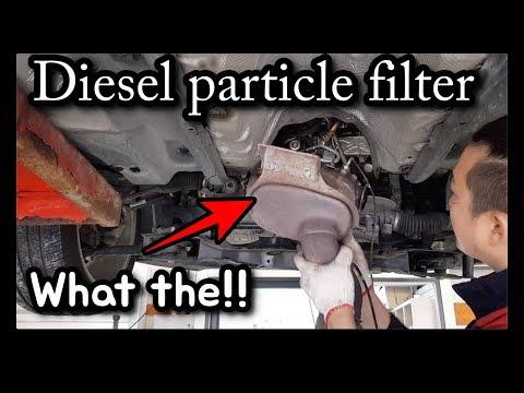 Difficult to remove DPF Volkswagen