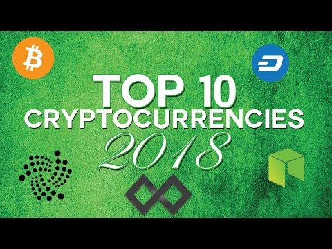 Top 10 Cryptocurrencies for 2018 - Crypto Cory -