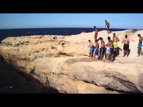 monastir falaise plongeons