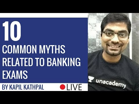 10 Common Myths Related to Banking Exams By Kapil Kathpal