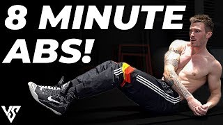 8 Minute Six Pack Abs Workout to Get Ripped (FOLLOW ALONG!)