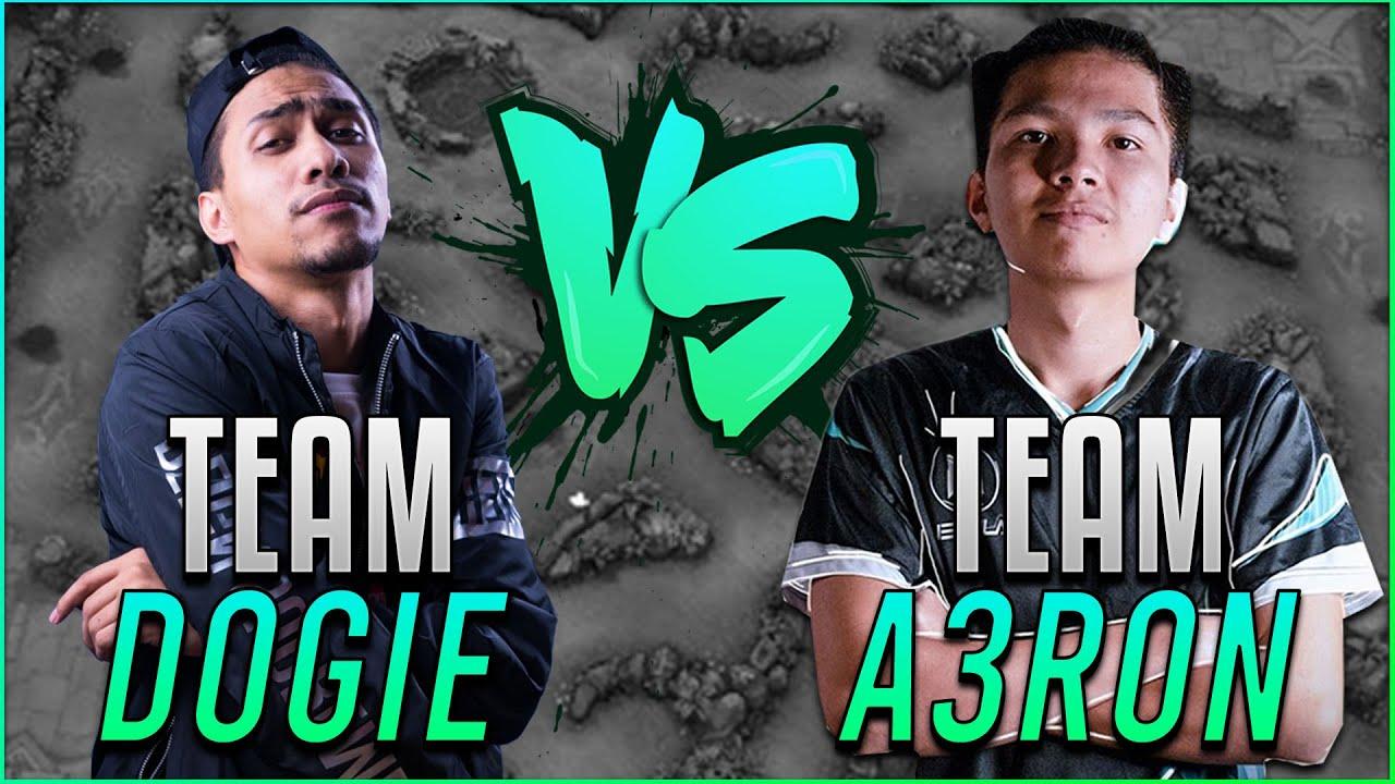 TEAM DOGIE VS TEAM AERON