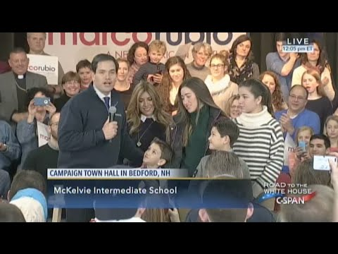 A Marco Rubio Campaign Rally / Bedford NH 2/7/16