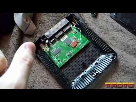 Teardown of Linksys E1200 v2 Router [Old Video]