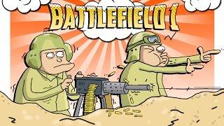 Battlefield 1 Монтаж ● БАГИ И ПРИКОЛЫ БАТЛФИЛДА ● Смешные моменты ● Open Beta