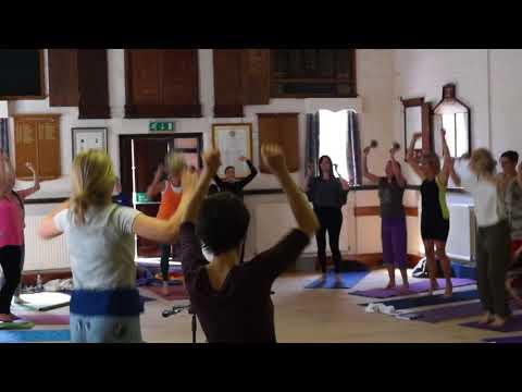 Connection Brazil- UK - Lila's creative process - Mandala Gong Yoga