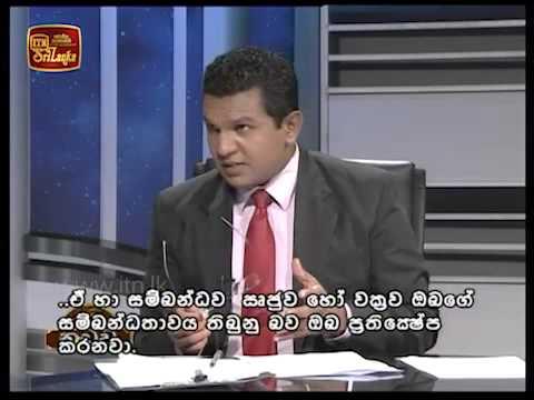 Arjuna Mahendran's ITN interview