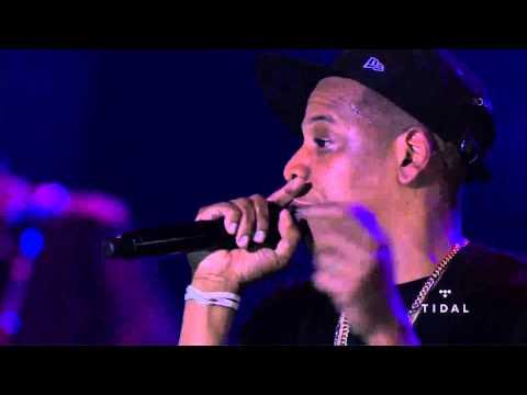 Jay-Z B-Side Concert Freestyle (HD)