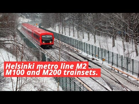 [HKL] Helsinki metro M100 and M300 trainsets
