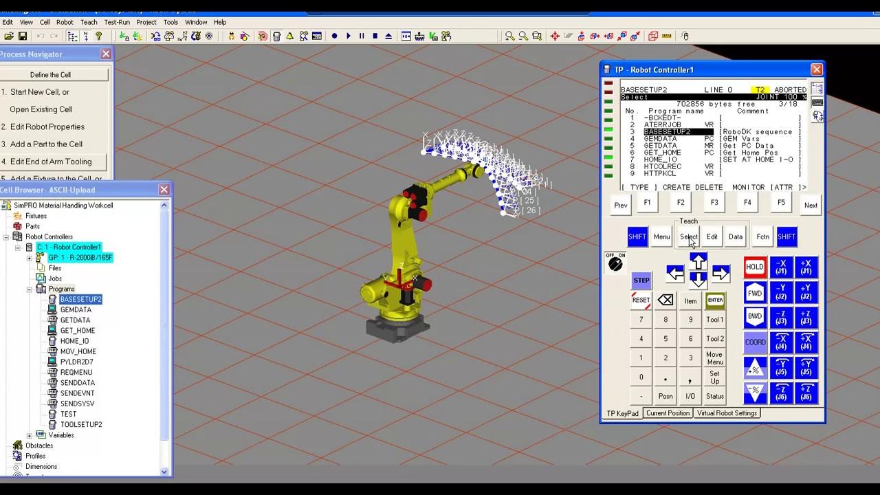 Roboguide fanuc robot simulation software   fanuc america.