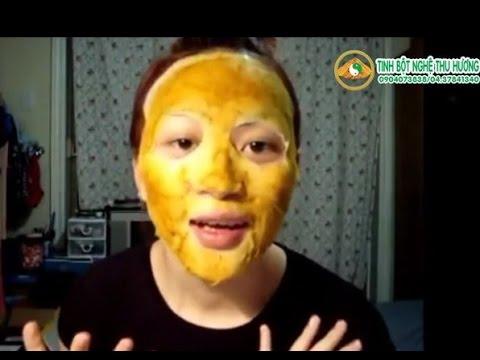 Bí quyết xóa vết thâm mụn của Trang lala bằng mặt nạ trứng-nghệ-muối