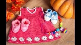 Вязание для деток, платья и сарафаны вязанные для девочек
