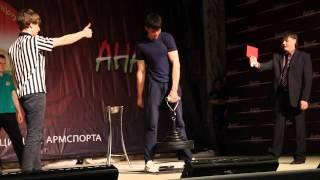 Армлифтинг 2 юниоры финал. Турнир Анас 2014 Чистоп