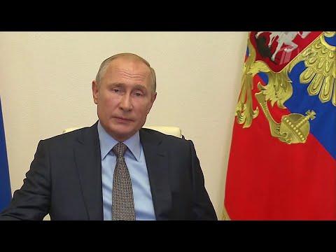В.Путин обсудил с