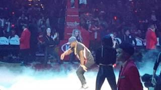 "O.T. Genasis Performing ""Cut It"" at Staples Center"