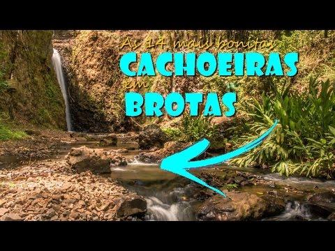 14 melhores cachoeiras em Brotas