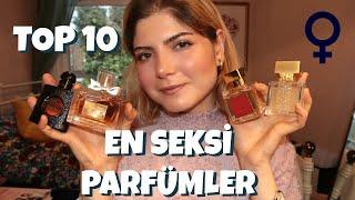 En seksi kadın parfümü