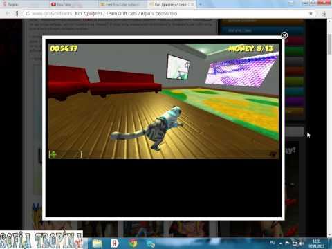 Обзор игры Team Drift Cats