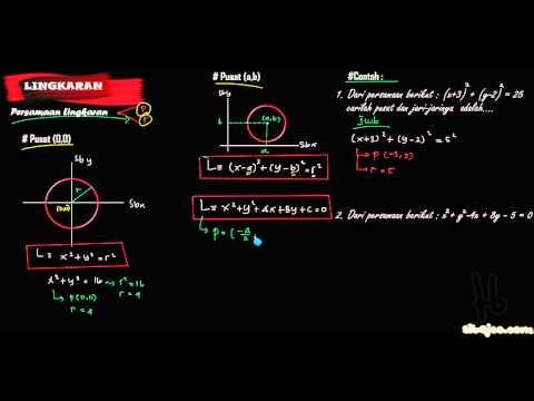 (Lingkaran)persamaan lingkaran.flv