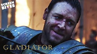 Gladiator | Maximus Leads His Men | Russell Crowe