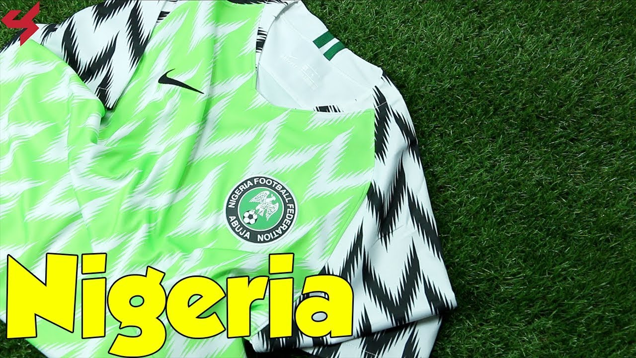 lowest price 45916 4ed93 World Cup 2018 Nike Home Nigeria Jersey Unboxing + Review