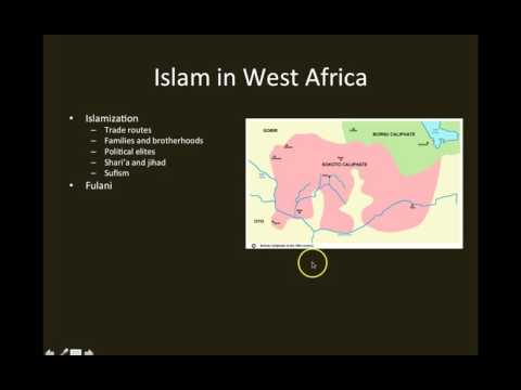 Flagler College HIS 363 Modern Africa: Islam in West and East Africa