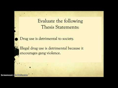 Thesis defense tips