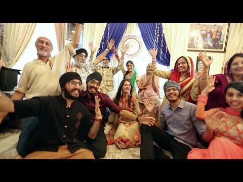 Nachde Ne Saare | Punjabi Wedding Lip Dub...
