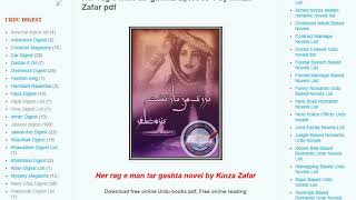 Gambar cover How To Download Novels Pdf from Famous Urdu Novels ?