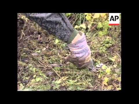 BOSNIA: SWEDISH UN TROOPS PREPARE TO CLEAR LAND MINES