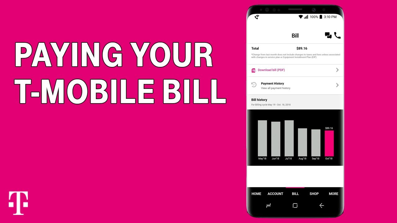 Pay Your T Mobile Bill Online Free Autopay More T Mobile