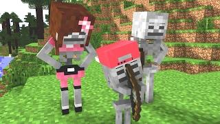 - Skeleton Life Craftronix Minecraft Animation