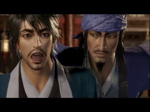Dynasty Warriors 9 - Guo Jia and Xun You Share A Drink (English Dub)