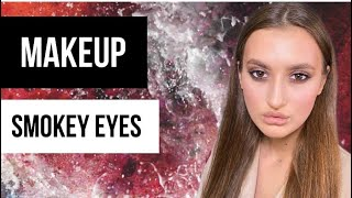 Пошаговый урок по макияжу глаз смоки аи с Smoky eyes Уроки визажа Марии Десенко