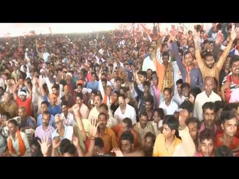 PM Narendra Modi addresses a public meeting in Kushinagar, Uttar Pradesh: 12 May 2019