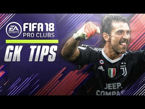 FIFA 18 Pro Clubs | GK TIPS - DEALING WITH 1v1's!