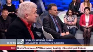Kacper Sajecki (Liberalni) vs. Piotr Ikonowicz (RSS) i Witold Orłowski (ekonomista)