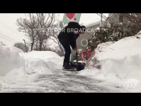 02-12-2017 Chicopee, Massachusetts - Snowstorm