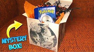 Opening a Pokemon HALLOWEEN MYSTERY BOX! (Spooky)