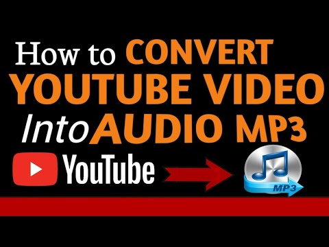 HOW TO CONVERT YOUTUBE VIDEOS INTO AUDIO | MP3 |  MUST WATCH VIDEO 😳😲