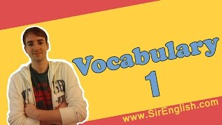 Learn English Vocabulary: Lesson 1 | Boost Your English Listening and Speaking