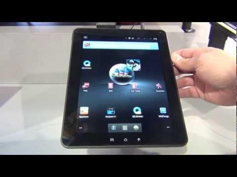 ViewSonic presenta su nueva tableta de 9.7 pulgadas ViewPad 10E CES 2012