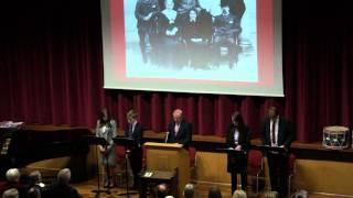 Bromsgrove School At War 1914-1919, presented by Philip Bowen (Deputy Headmaster), 1st May 2014