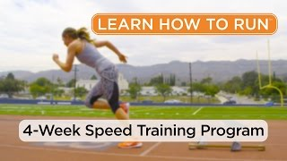 4-Week Speed Training Program - Series Overview