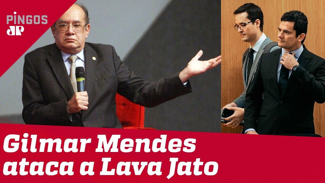 Gilmar Mendes ataca a Lava Jato: 'Gente ordinária'