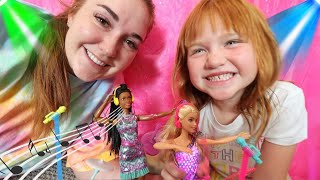 Barbie DREAMS BiG with Adley &amp Mom!! Music Concert and a Day in the City with 2 new BEST FRiENDS!